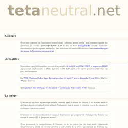 tetaneutral.net