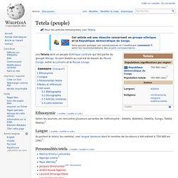 Tetela (peuple)