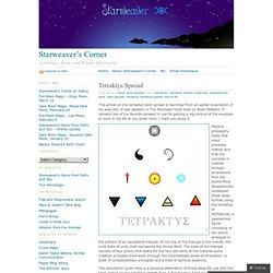 Tetraktys Spread « Starweaver's Corner