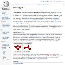 Tetraoxygen