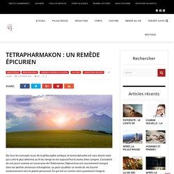 Tetrapharmakon: remède épicurien