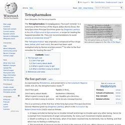 Tetrapharmakos