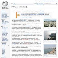Tetrapod (structure) - Wikipedia