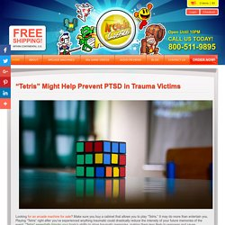 """Tetris"" Might Help Prevent PTSD in Trauma Victims"
