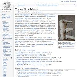 Teucros fils de Télamon