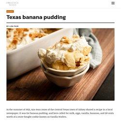 Texas banana pudding