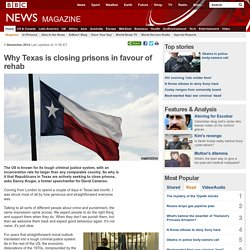 Why Texas is closing prisons in favour of rehab