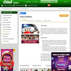 Texas Holdem - Esball Global