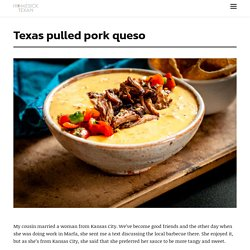 Texas pulled pork queso