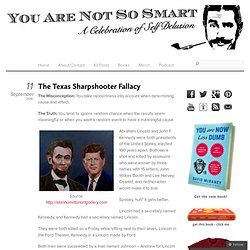The Texas Sharpshooter Fallacy