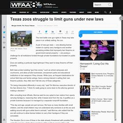 Texas zoos struggle to limit guns under new laws