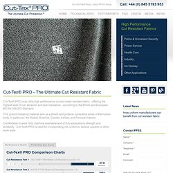 Cut-Tex® PRO | Cut Resistant Textile and Clothing