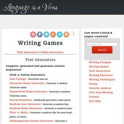 Text Generators