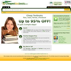 Cheapest Textbooks
