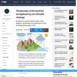 School textbooks reveal complacency over climate change