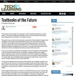 "David Warlick, ""Textbooks of the Future"" - Alfabetización digital"