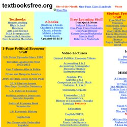 Free Textbooks Internet Library