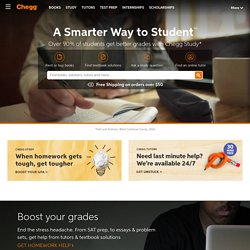Chegg.com: Rent Textbooks. Cheap Textbook Rentals for College