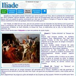 texte grec : Iliade d'Homère