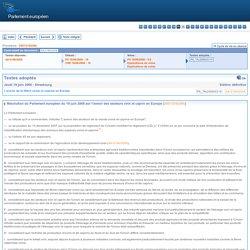 PARLEMENT EUROPEEN - Résolution du Parlement européen du 19 juin 2008 sur l'avenir des secteurs ovin et caprin en Europe
