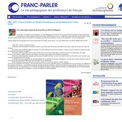 1990 - 2015 : 25 ans, 25 textes de l'Afrique francophone au sud du Sahara et de l'océan Indien