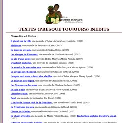 textes femmes africaines