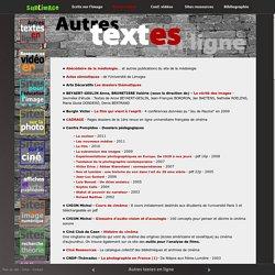 Textes en ligne