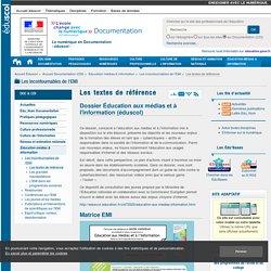 Les textes de référence — Documentation (CDI)