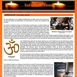 Les textes sacres en Inde Veda Upanishad sutra