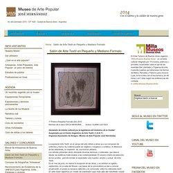 Salón de Arte Textil en Pequeño y Mediano Formato