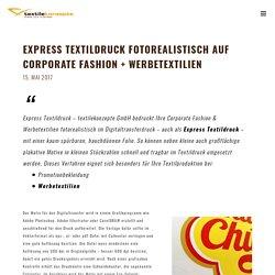 Express Textildruck 24h fotorealistisch in bester Qualität