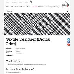 Textile Designer (Digital Print)