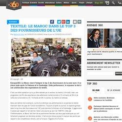 Textile: le Maroc dans le top 3 des fournisseurs de l'UE