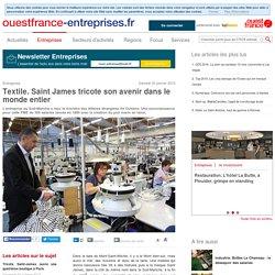 Textile. Saint James tricote son avenir dans le monde entier