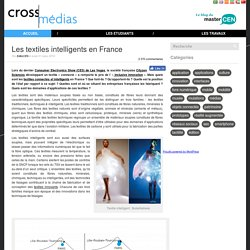 Les textiles intelligents en France