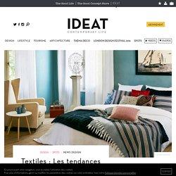 Textiles : Les tendances des éditeurs les plus créatifs (3/3) - 10/10/16