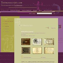 Textmanuscripts