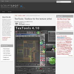 TexTools: Toolbox for the texture artist