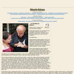 Textos de Eduardo Galeano