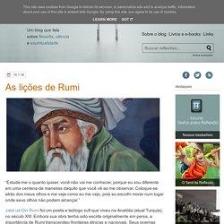 Textos para Reflexão: As lições de Rumi
