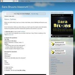 Sara Bruuns klassrum: Texttyper