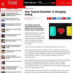 How 'Textual Chemistry' Is Changing Dating