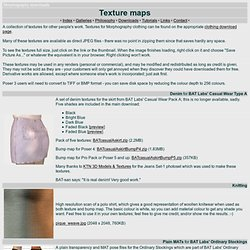 Texture Downloads
