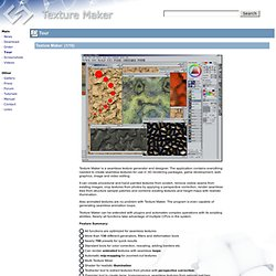 Texture Maker - The Seamless Texture Generator