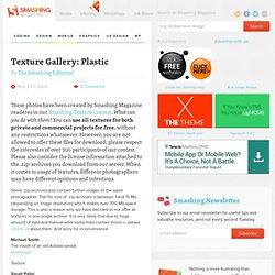 Texture Gallery: Plastic - Smashing Magazine