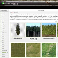 Free Texture - Vegetation - luGher Texture Library
