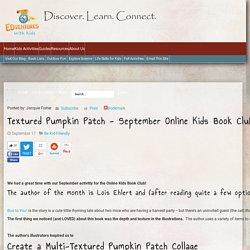 Textured Pumpkin Patch - September Online Kids Book Club