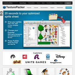 TexturePacker - Create Sprite Sheets for your game!