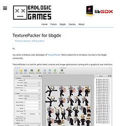TexturePacker for libgdx