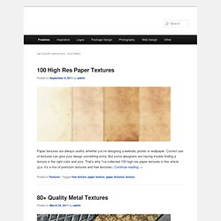 Textures | The Roxor | Design blog for resources and inspiration